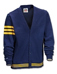 Cardigan - Navy / Gold